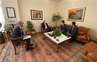 أمين الوكالة المصرية للشراكة من أجل التنمية يلتقي مدير مكتب الوكالة الكورية للتعاون الدولي