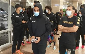 المقاولون العرب يصل إلى القاهرة بعد الفوز على بطل جيبوتي   صور