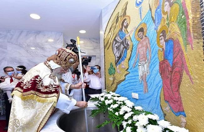 في ذكرى اختياره بطريركا.. البابا تواضروس يدشن كنيسة ...