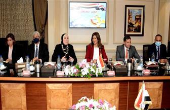 """نيفين جامع: مؤتمر """"مصر تستطيع بالصناعة"""" فرصة لجذب استثمارات جديدة   صور"""