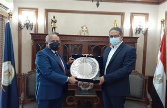 خالد العناني يستقبل وزير الإعلام الجديد بالأردن قبل استلام مهام منصبه | صور