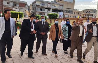 محافظ شمال سيناء يستقبل وكيل وزارة التربية والتعليم لشئون ذوي الاحتياجات| صور