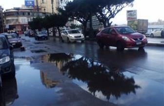 هطول أمطار متوسطة على شمال كفر الشيخ والمحافظ يعلن حالة الطوارئ