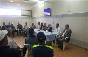 قطاع الناشئين بالمقاولون العرب يحتفل بـ «النحاس» والمشرف على الكرة
