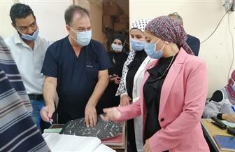 نائبة محافظ البحر الأحمر تتابع تطبيق الإجراءات الاحترازية بالمنشآت الحكومية | صور