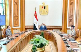 الرئيس السيسي يستعرض الموقف التنفيذي لمشروعات الطرق والعاصمة الإدارية