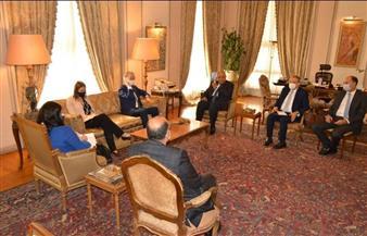 وزير الخارجية يناقش مع «بيدرسون» تطورات العملية السياسية في سوريا