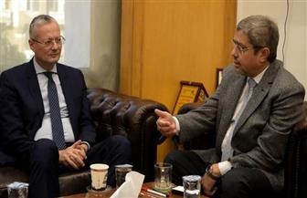 إبراهيم العربي يستقبل السفير البولندي لتنمية العلاقات الثنائية التجارية والاستثمارية| صور