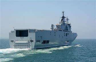 انطلاق فعاليات التدريب البرمائى المشترك المصرى البريطانى (T-1) بالبحر المتوسط | صور