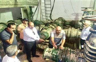 مياه القناة: ترميم خزان المياه الأرضي المكشوف في بورسعيد | صور
