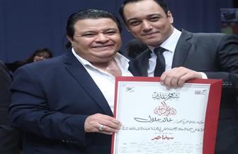 حسن عبدالله ونجوم «سينما مصر» يحتفلون بعيد ميلاد خالد جلال