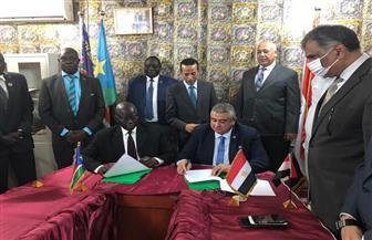 مصر وجنوب السودان يبحثان سبل التعاون فى مجال الطيران المدنى