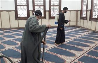 الأوقاف تواصل حملاتها لنظافة وتعقيم المساجد في جميع المديريات| صور