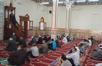 افتتاح مسجد أم الرضا بمركز كفر البطيخ بتكلفة 4.4 مليون جنيه| صور