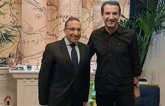 """السفير المصري لدى ألبانيا يلتقي عمدة العاصمة """"تيرانا"""""""