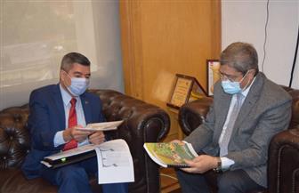 مباحثات بين اتحاد الغرف وسفارة فنزويلا لزيادة التبادل التجاري والاستثماري