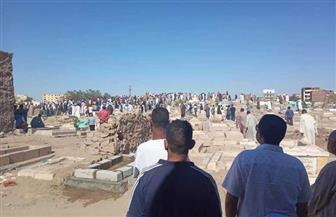 تشييع جثمان طالبة جامعة أسوان بعد العثور عليها مقتولة