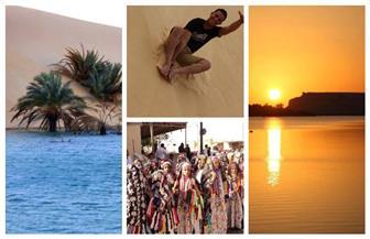 بعد افتتاح قلعة شالي والمسجد العتيق.. تعرف على أهم المقاصد والمعالم وأنواع السياحة بواحة سيوة   صور