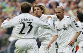 بيكهام يرغب في لم الشمل مجددا مع قائد ريال مدريد