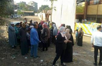 إقبال ملحوظ من الشباب والسيدات بالقناطر الخيرية وقليوب على صناديق الاقتراع | صور