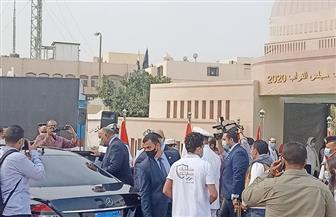 وزير الخارجية يدلي بصوته في انتخابات «النواب» بالتجمع الخامس