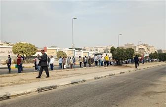 في أول يوم بانتخابات النواب.. إجراءات أمنية واحترازية مشددة أمام لجان التجمع الخامس | فيديو وصور