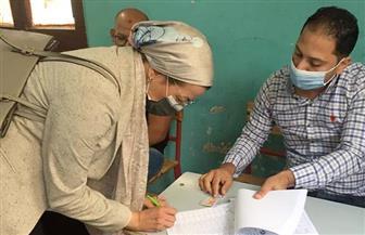 وزيرة البيئة تدلي بصوتها في الانتخابات وتناشد المواطنين بالمشاركة   صور