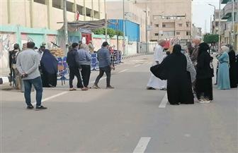إقبال متوسط بلجان الانتخابات بمدينة العريش بشمال سيناء | صور