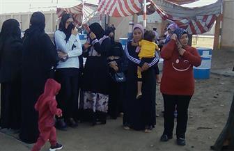 توافد السيدات على لجان التصويت بقرى غرب بورسعيد | صور