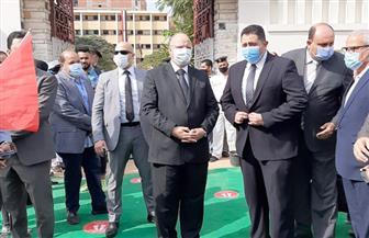 محافظ القاهرة يتفقد اللجان الانتخابية بمدينة نصر وشبرا.. ويؤكد عدم وجود أي شكاوى