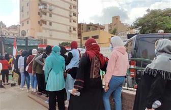 استمرار توافد الناخبين للمشاركة في انتخابات «النواب» بحي شبرا مصر بعد ساعة الراحة | فيديو