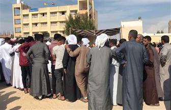 استمرار الإقبال على لجان الاقتراع بئر العبد بشمال سيناء| صور وفيديو