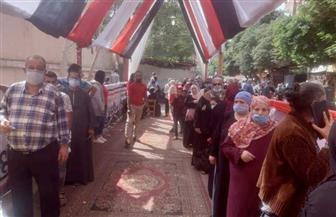 استمرار توافد الناخبين في حلوان للإدلاء بأصواتهم في انتخابات «النواب» | صور وفيديو