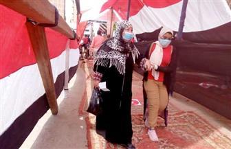 حضور كثيف من الناخبين في «السلام» للمشاركة في انتخابات «النواب»