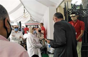 رئيس حي غرب القاهرة يتابع تطبيق الإجراءات الاحترازية بلجان الزمالك وقصر الدوبارة