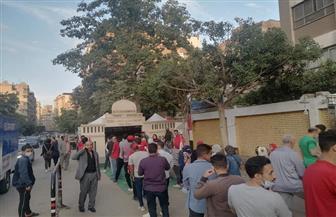 عقب فترة الراحة.. حضور مكثف بلجان حدائق القبة للتصويت فى النواب | صور