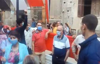 توافد كبير من الناخبين بروض الفرج للمشاركة في انتخابات النواب | فيديو