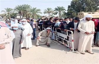 زحام على لجان التصويت بقرية رمانة ببئر العبد في انتخابات مجلس النواب |صور