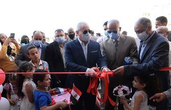محافظ الأقصر يفتتح مدرسة اللغات المتميزة المتكاملة بمدينة طيبة الجديدة   صور