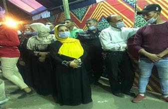 توافد كثيف من الناخبين على لجان شبرا قبل ساعات من إغلاق التصويت | صور وفيديو