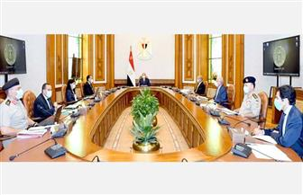 الرئيس السيسي يستعرض الموقف التنفيذي للمشروع القومي لإقامة التجمعات البدوية بسيناء
