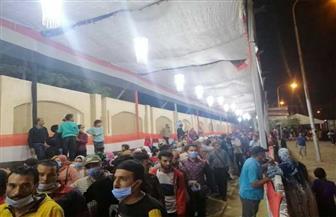 توافد المواطنين للإدلاء بأصواتهم قبل انتهاء العملية الانتخابية بالمعصرة