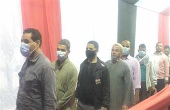 اصطفاف الناخبين أمام لجان «التبين» بحلوان وسط إجراءات احترازية مشددة | صور