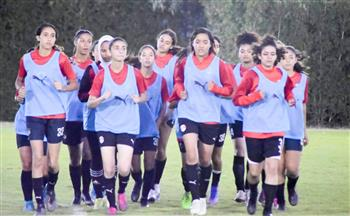 انطلاق المعسكر المفتوح لمنتخبي الكرة النسائية | صور