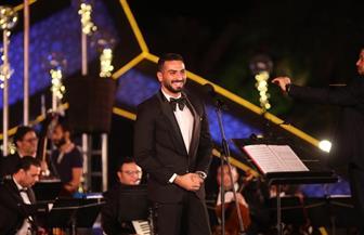 تألق الشرنوبي وإبداعات أحمد عفت في التراث في الليلة السابعة لمهرجان الموسيقى العربية|صور
