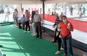 بدء توافد الناخبين في لجان طبري الحجاز بمصر الجديدة | صور