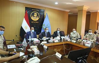 محافظ كفر الشيخ يترأس غرفة عمليات متابعة انتخابات «النواب» | صور