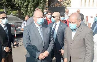 محافظ القاهرة يتفقد لجان عبد العزيز آل سعود بمصر الجديدة | صور