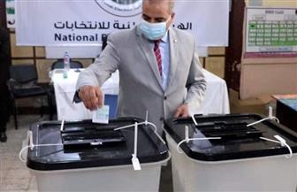 رئيس جامعة الأزهر يدلي بصوته في انتخابات مجلس النواب بجاردن سيتي
