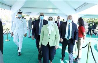 وزيرة الصحة تدلي بصوتها في انتخابات «النواب».. وتؤكد: جميع اللجان تم تأمينها طبيا | صور